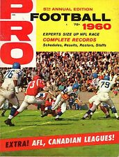 1960 Pro Football magazine, 5th Annual Edition, Experts Size Up NFL Race!
