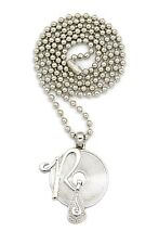 "New ROCAFELLA Pendant &3mm/27"" Ball Chain Hip Hop Necklace XMP3"