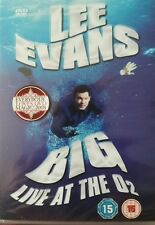 NEW - Lee Evans - Big - Live at the O2 [DVD] 5050582540796