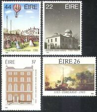 Ireland 1985 Air Balloon/Observatory/Buildings/Astronomy/Art/Ships 4v set n14024