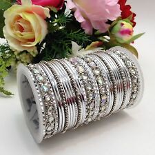Indian Bridal/Party Wear Bangles Size:(2.4) (Set Of 32)
