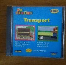 CD ROM PC GENIUS NO: 21 TRANSPORT
