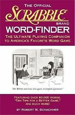 The Official Scrabble Brand Word Finder by Robert W. Schachner (2000, HBDJ)