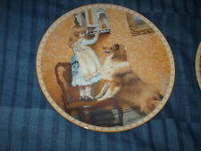 royal doulton plate say please, from a victorian childhood collection