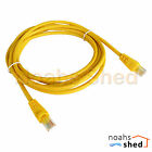 3M Meter CAT6 UTP RJ45 Data LAN Network Ethernet Cable Patch Lead Cord Yellow