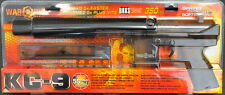 WAR INC KG-9 SPRING POWERED BAXS RIFLE IN CLEAR *New*