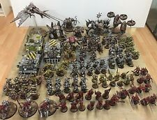 WH 40k: Iron Warriors + Deamons Army PRO PAINTED