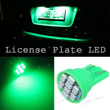 T10 8SMD 5050 LED GREEN 2825 168 W5W 501 License Plate Lights Tag Bulb For Acura