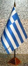 Greece/Greek Desktop Country Flag - Souvenir New