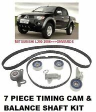 FOR MITSUBISHI L200 2.5 ANIMAL 2006  TIMING CAM BELT + BALANCE SHAFT BELT KIT