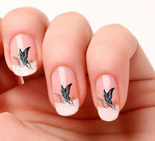 20 Nail Art pegatinas transferencias calcomanías # 366-Mariposa Solo Peel & Stick