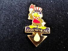 1984 LOS ANGELES ARROWHEAD SPONSORED OLYMPIC PIN