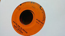 Percy Mayfield 45 Give Me Time to Explain/My Jug and I Tangerine Funk Northern