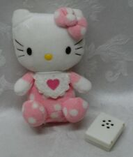 "Rare Hello Kitty Vintage Sanrio Greetings 6.5"" Plush Stuffed Animal Pink Heart"