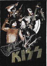 KISS BACKPATCH / SPEED-THRASH-BLACK-DEATH METAL