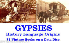 Gypsy Life Romany Language Gypsies Zincali Collection Vintage Books on Data Disc
