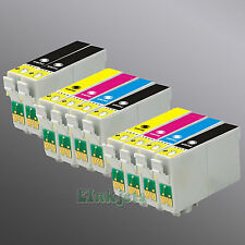 10 Ink for Epson 69 T069120 T069220 T069320 T069420 Stylus CX9400Fax NX100 NX105