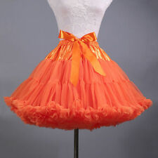 New Adult Tutu Skirt Fluffy Ballet Party Pettiskirt Women Dancewear Skirt Dress