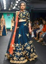 Shivam Heavy work bollywood Indian Ethnic Designer Semi Stitched lehenga choliR