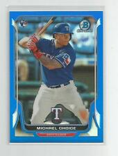 2014  Bowman Chrome  MICHAEL CHOICE   Blue Refractor  060/250