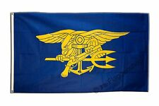 Flagge Fahne USA Navy Seals Trident - 90 x 150 cm