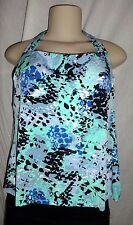 MAGICSUIT By Miraclesuit Size 12 New Sharon Come Slither Tankini Top