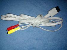 GENUINE OFFICIAL NINTENDO WII COMPOSITE RCA AV CABLES RVL-009 OEM