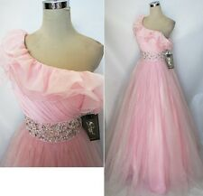 NWT Mac Duggal Ice Pink $458 Wedding Formal Prom Gown 6