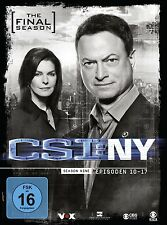 CSI: NY-SEASON 9.2: THE FINAL SEASON (LIMITED EDITION) 3 DVD NEU