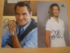 original Roger Federer & Steffi Graf