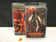 PIRATES OF THE CARIBBEAN CANNIBAL JACK SPARROW ACTION FIGURE New NECA DISNEY