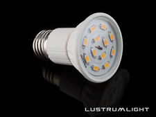 6 X E27 ES LARGE SCREW R50 SMD Bulb 12 SDMs in Warm WHITE 3 Watt =  50 Watt