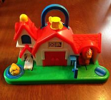"Vintage ""Fisher-Price"" Barn w/Moving Parts - 1987"