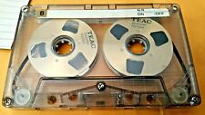 TEAC CRC-60 Reel To Reel Cassette Tape Pre Owned