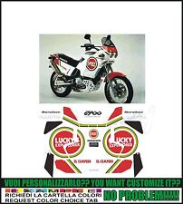 kit adesivi stickers compatibili  elefant 900 e lucky ex marathon