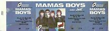RARE / TICKET DE CONCERT - MAMA' S BOYS LIVE A REIMS ( FRANCE ) 1988 / UNUSED
