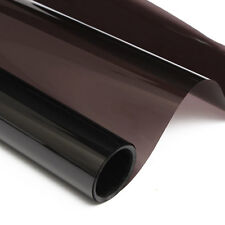 Transparent BLACK 20% CAR HOME WINDOW TINT 6M x 50CM FILM TINTING 90% Anti-UV
