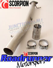 FIESTA ST150 DE CAT PIPE EXHAUST SCORPION ST 150 STAINLESS SFDC068 **NEW**