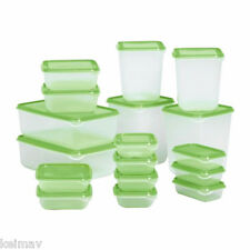 Keimav Quality Container Plasticware Foodsaver (Green) 17 piece set