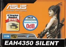 ASUS EAH4350 SILENT/DI/512MD2(LP) PCIE-X16 RADEON HD4350 512MB VIDEO CARD - NEW!