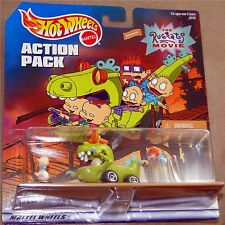 RUGRATS MOVIE, Hot Wheels Action Pack - REPTAR WAGON, TOMMY, CHUCKY, BABY DILL