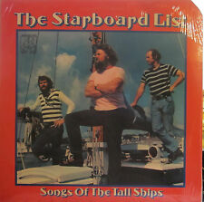 Starboard List - Songs of the Tall Ships  (Adelphi 1025) ('76) (sea shanties)