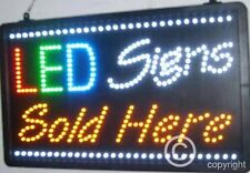 QUALITY  FLASHING  LED SIGNS SOLD HERE new window shop signs