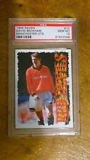 David Beckham ROOKIE - Raven Red Devils 1995 - PSA 10 (MEGA RARE) ONLY 500 MADE