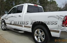 2009-2016 Dodge Ram Crew Cab 5.7' Short Bed No Flare Rocker Panel Trim