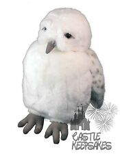 Wizarding World Of Harry Potter Hedwig Owl Plush Puppet W/ Sound Universal