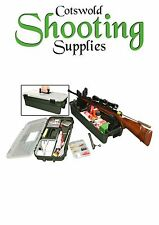 MTM SHOOTERS RANGE BOX, GUN CLEANING , AIR RIFLE SET UP,  RIFLE SET UP