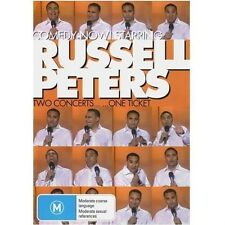 RUSSELL PETERS: Comedy Now: Two Concerts One Ticket DVD