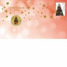 2011 CHRISTMAS STAMP AND COIN COVER (PNC)