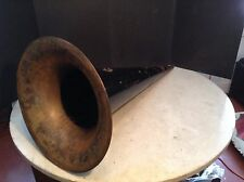 Circa 1900 Edison Columbia Large Witches Hat Horn Standard Metal MFG Co